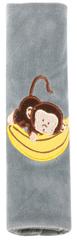 Walser Návlek na bezpečnostní pás Monkey šedý (od 5 let)