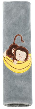 Walser nakładka na pas bezpieczeństwa Monkey, szary