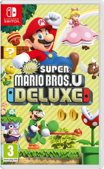 Nintendo igra New Super Mario Bros. U Deluxe (Switch)