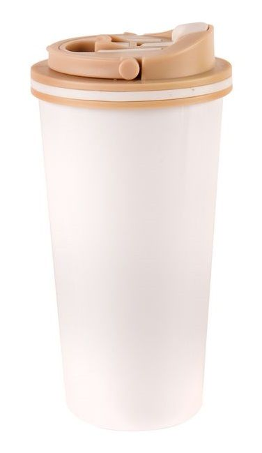 Orion Hrnek termo pohár ner./UH 0,5 l BILA