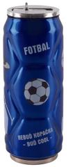 Orion Termoska-plechovka ner. 0,5 l futbal modrá