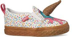 Vans Td Asher V Ice Cream White