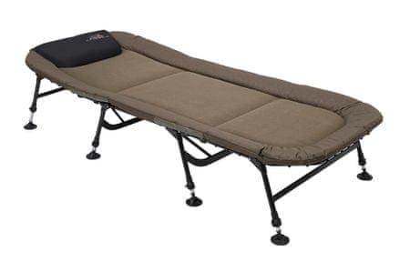 ProLogic Lehátko Commander Flat Wide Bedchair 8 Legs