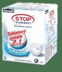 Ceresit Stop Vlhkosti Micro - tablety 2v1, 2 ks