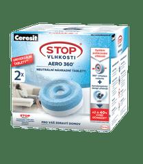 Ceresit Stop vlagi AERO 360° tableta za polnjenje 2 x 450 g
