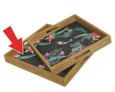 """Kaemingk Pladenj """"bambus"""", 30 x 30 x 4 cm"""