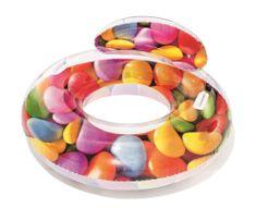 Bestway Nafukovací sedačka Candy s držadly, 118x117 cm