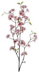 Kaemingk Větev - rozkvetlá třešeň, hedvábí - světle růžová
