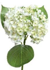 Kaemingk Hortensje, poliester - biały