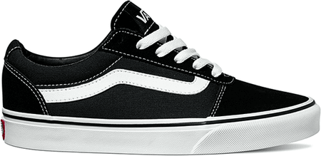 Vans Wm Ward Suede Canvas Black 36.5  8a58261648