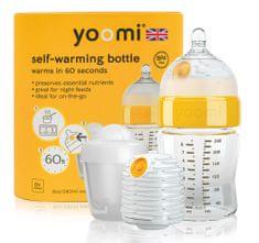 Yoomi 8oz Bottle/Warmer/Teat/Pod - Y18B1W1P
