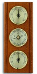 Brodnik hidro/baro/termo-meter, oreh, 20.1002.03