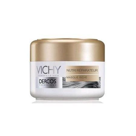 Vichy Odżywczy maska sucha i uszkodzonych włosów Dercos (Nourishing Reparative Mask) 200 ml