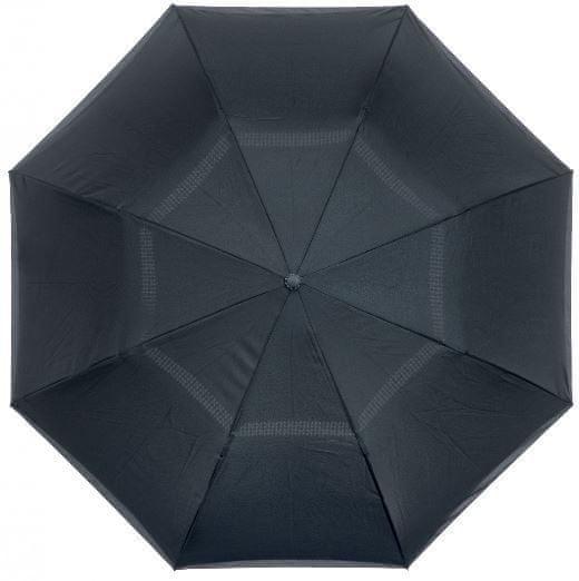 Blooming Brollies Płótno parasolowe Na lewą stronę Zwykły Black Parasol EDIOBB