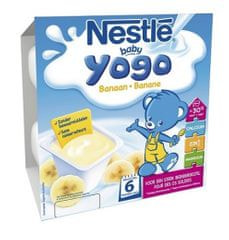 Nestlé Baby YOGO banán, 4x100g exp. duben 2019