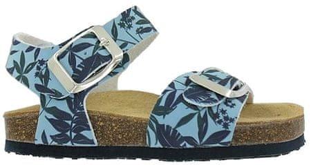 Primigi dívčí sandály s listy 24 plava
