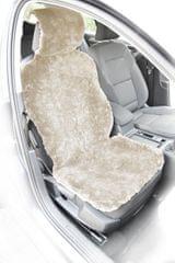 MAMMOOTH Potah na sedadlo z ovčí kůže, přední sedadla, barva bílá
