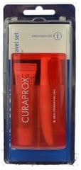 Curaprox TS 261 potovalni komplet - zložljiva krtača + pasta Curasept 705 5ml