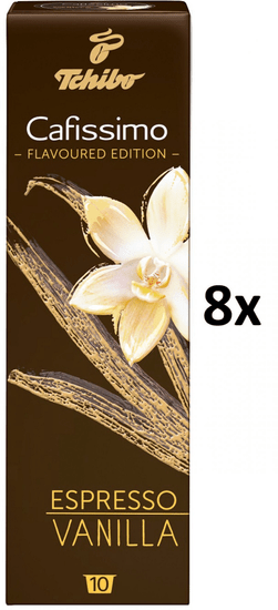 Tchibo kapsułki Cafissimo Espresso Vanilla, 8x10