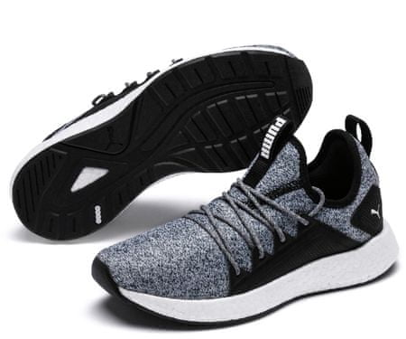 Puma tenisówki NRGY Neko Knit Jr Black-White 35-36
