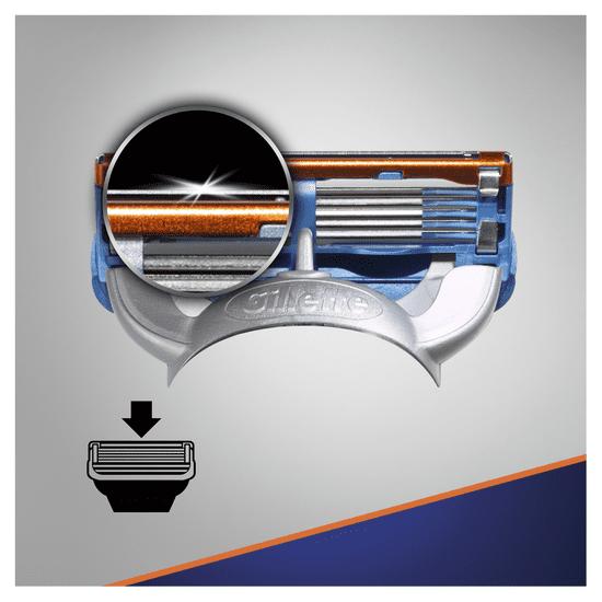 Gillette Fusion Náhradní hlavice k pánskému holicímu strojku 12ks