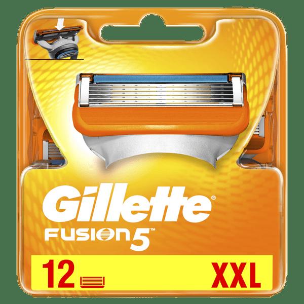 Gillette Fusion Náhradní hlavice k pánskému holicímu strojku 12 ks
