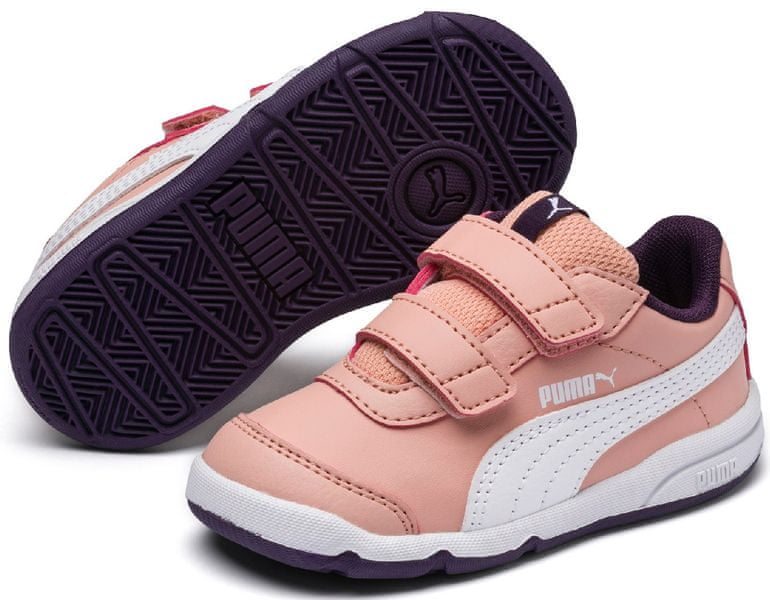 Puma Stepfleex 2 SL V PS Peach Bud-White-Indigo 32