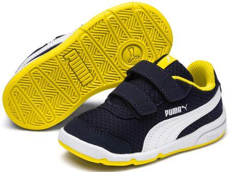 Puma Stepfleex 2 Mesh V PS Peacoat-Blazing Yellow-White 27-28