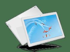 """Lenovo Tab P10 10,1"""" FHD 1,8 GHz/4G/64G/LTE, bílý (ZA450067CZ)"""