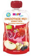 HiPP BIO Smoothie Jablko-Banán-Červené ovoce 120 ml exp. březen 2019