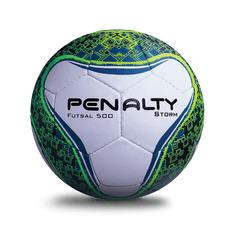 PENALTY Míč na futsal STORM C/C BC V bílá/zelená 4