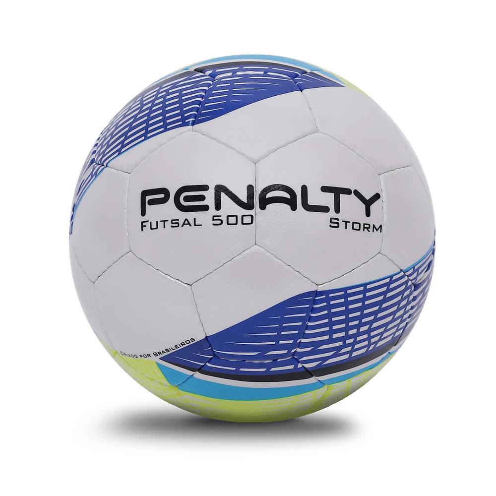 PENALTY Míč na futsal STORM C/C MAO BC V bílá/modrá 4