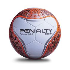 PENALTY Míč na futsal STORM C/C BC V bílá/oranžová 4