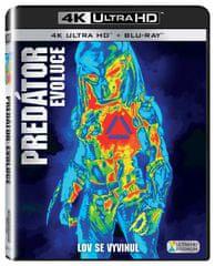 Predátor: Evoluce (2 disky) - Blu-ray + 4K ULTRA HD