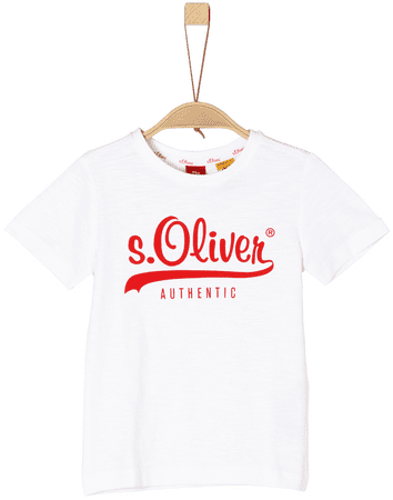 c6af4a5cf5 s.Oliver lány póló 116 - 122 fehér | MALL.HU