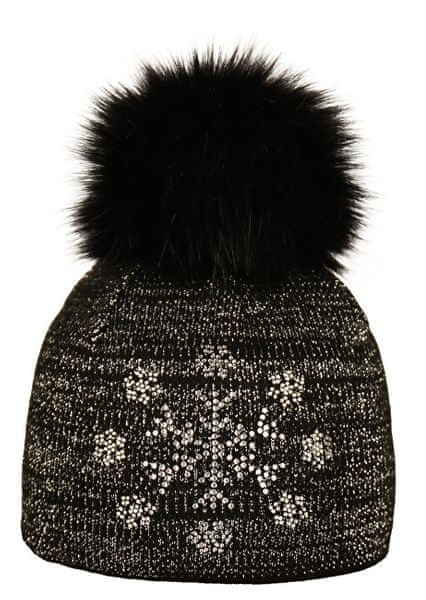 Capu Zimní čepice 1743-F Dark Grey