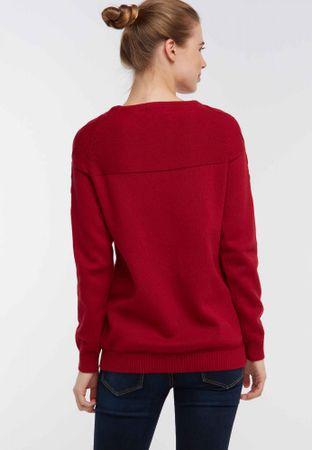 DreiMaster dámský svetr S červená  ed3ee42d600