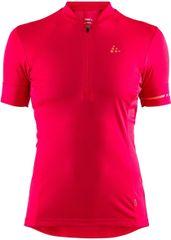Craft koszulka rowerowa damska Point różowa S