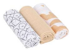 Lässig Swaddle blanket 85x85 Little Spookies