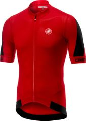 Castelli Volata 2 Jersey Red/Black