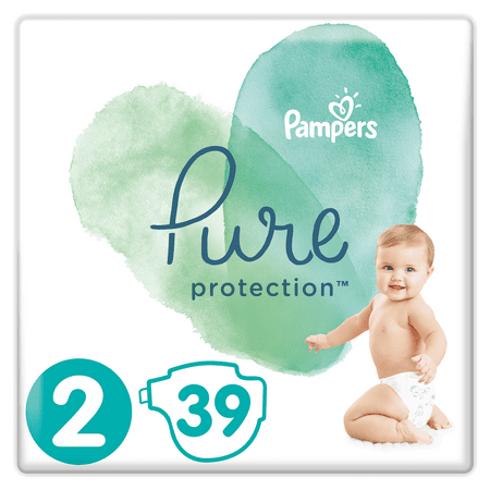 Pampers Pure Protection S2, 39 ks, 4-8 kg