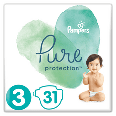 Pampers Pure Protection S3, 31 db, 6-10 kg