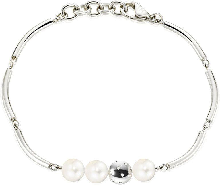 Morellato Ocelový náramek s perlami Lunae SADX12
