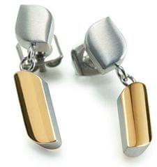 Boccia Titanium Pozłacane kolczyki tytanowe 05010-02