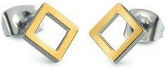 Boccia Titanium Kwadratowe kolczyki z tytanu 05022-02