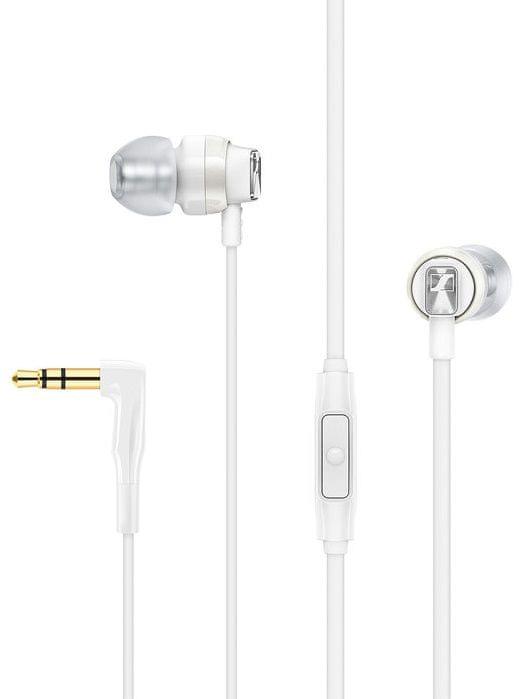 Sennheiser CX 300 S sluchátka s mikrofonem, bílá