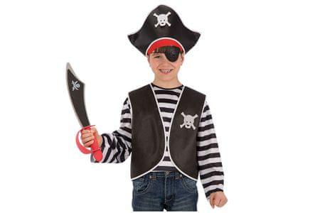 Carnival Toys pirat jopič + klobuk set, VR.6663