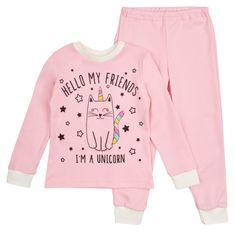 Garnamama dievčenské svietiace pyžamo Unicorn