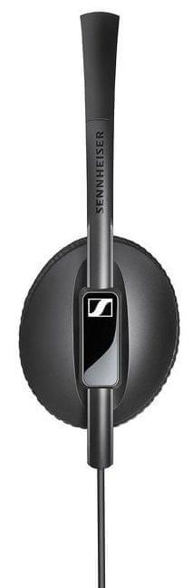 Sennheiser HD 100 sluchátka, černá - zánovní