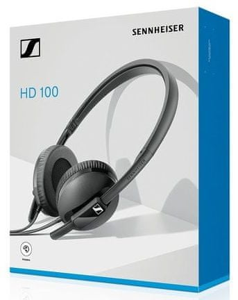 Sennheiser HD 100 sluchátka, černá